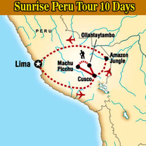 Sunrise Peru Tour 10 Days