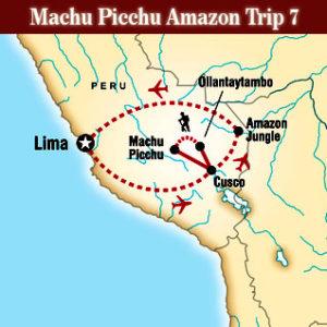 Machu Picchu Amazon Trip 7